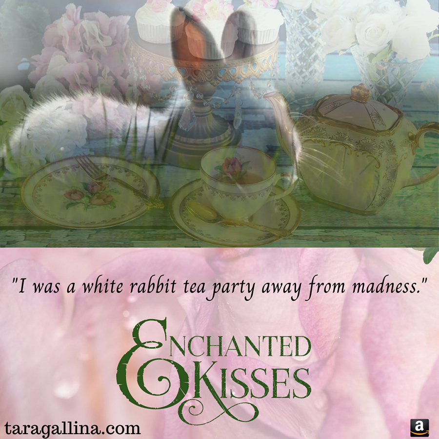 Teaser from ENCHANTED KISSES, a standalone new adult magical realism romance by Tara Gallina