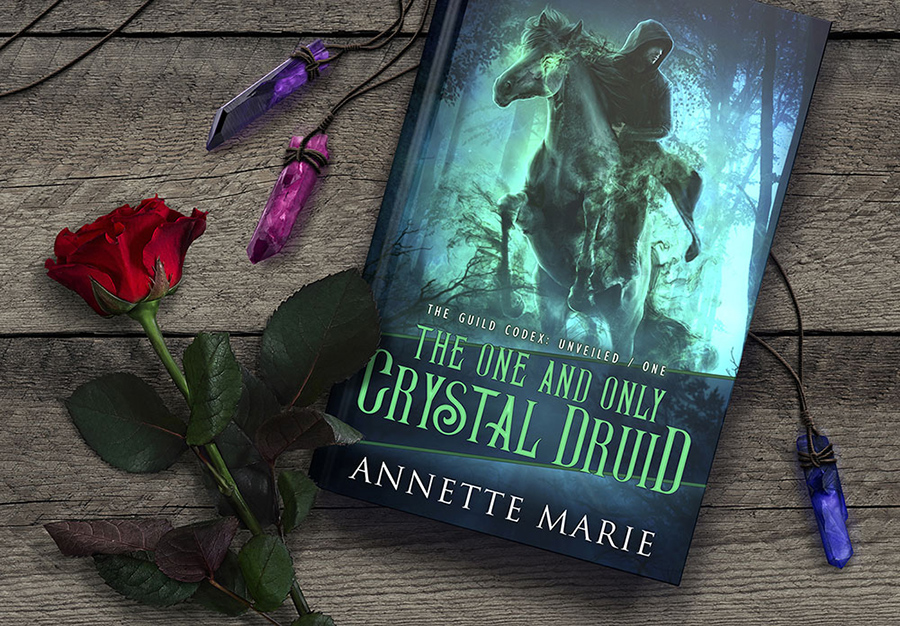 Teaser from THE ONE AND ONLY CRYSTAL DRUID, the first book in the new adult urban fantasy series, The Guild Codex: Unveiled, by Annette Marie