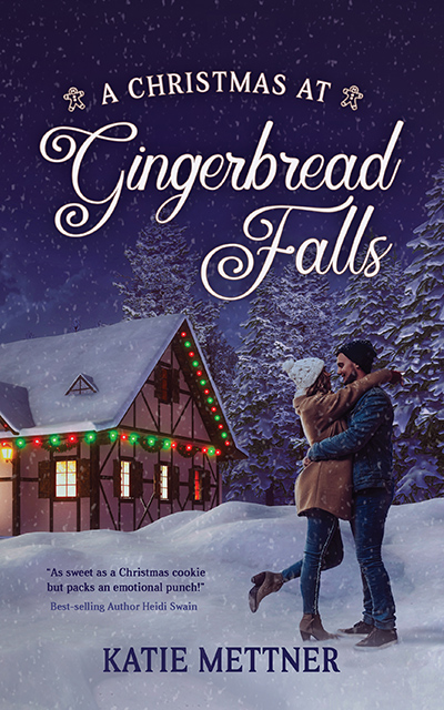 Welcome to the blog tour for A CHRISTMAS AT GINGERBREAD FALLS, a standalone adult contemporary holiday romance, by Katie Mettner