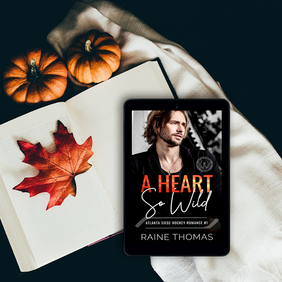 A HEART SO WILD, the first book in the adult contemporary sports romance series, The Atlanta Siege, by Raine Thomas is out now!