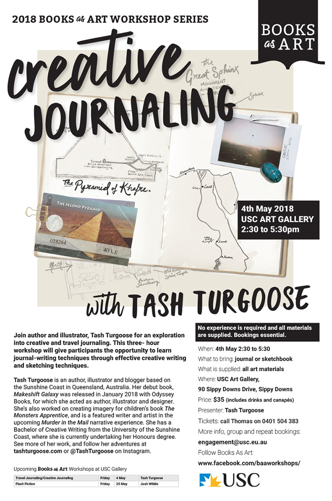 Creative Journaling by Tash Turgoose