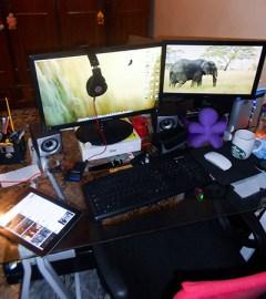 Meu home office, de onde é feito meus milhões