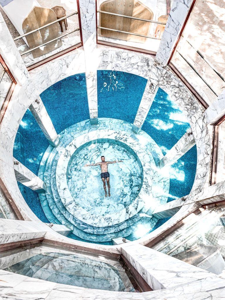 Marrakech - Palais Es Saadi - Journée piscine et spa