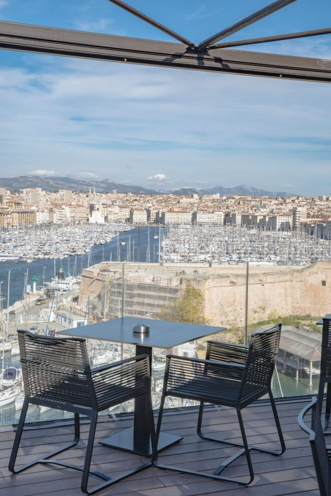 SOFITEL Marseille - Terasse Vue