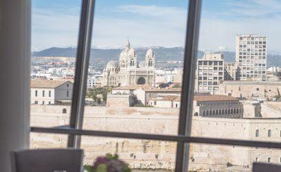 SOFITEL Marseille - Restaurant Les trois forts - vue