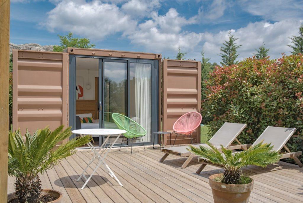Baux de Provence - Domaine Mejan - Hotel - Lodge Container