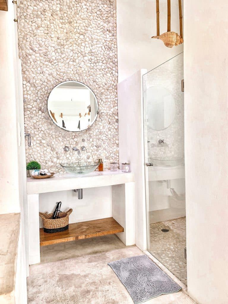 Isla Mujeres - Icaco Island - salle de bain