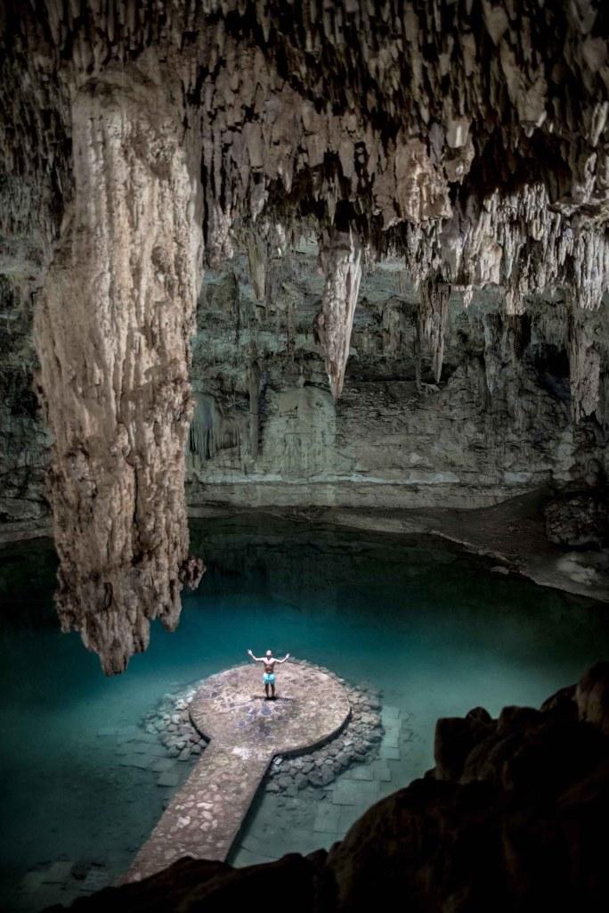 Mexique road trip - Cenote Suytùn near Valladolid