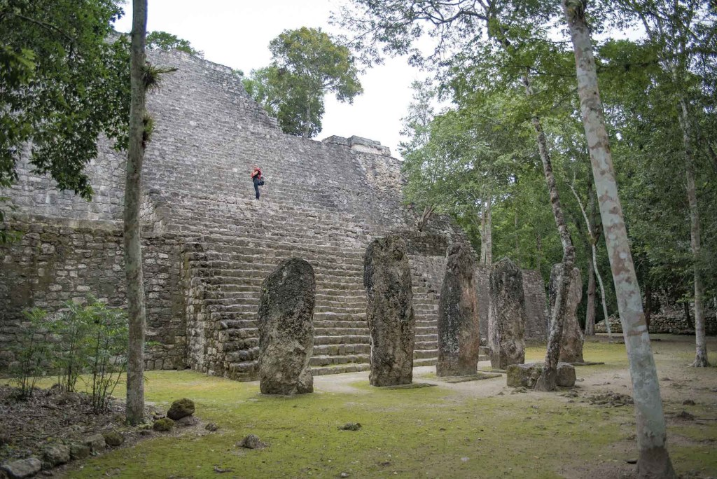 Calakmul Temple