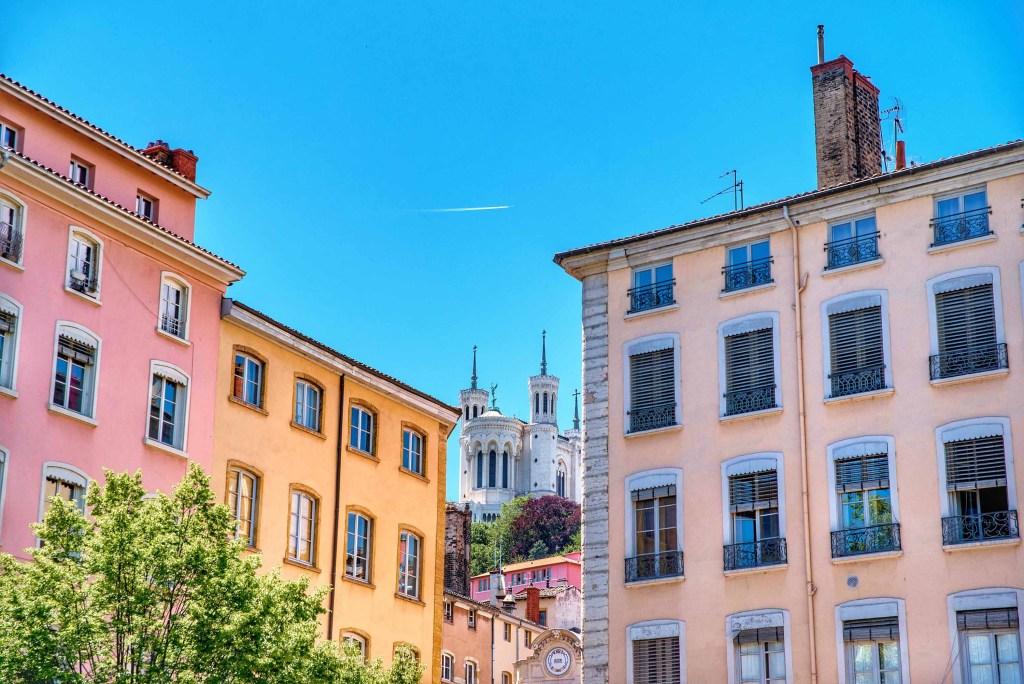 Ville de Lyon | vue basilique de fourvière