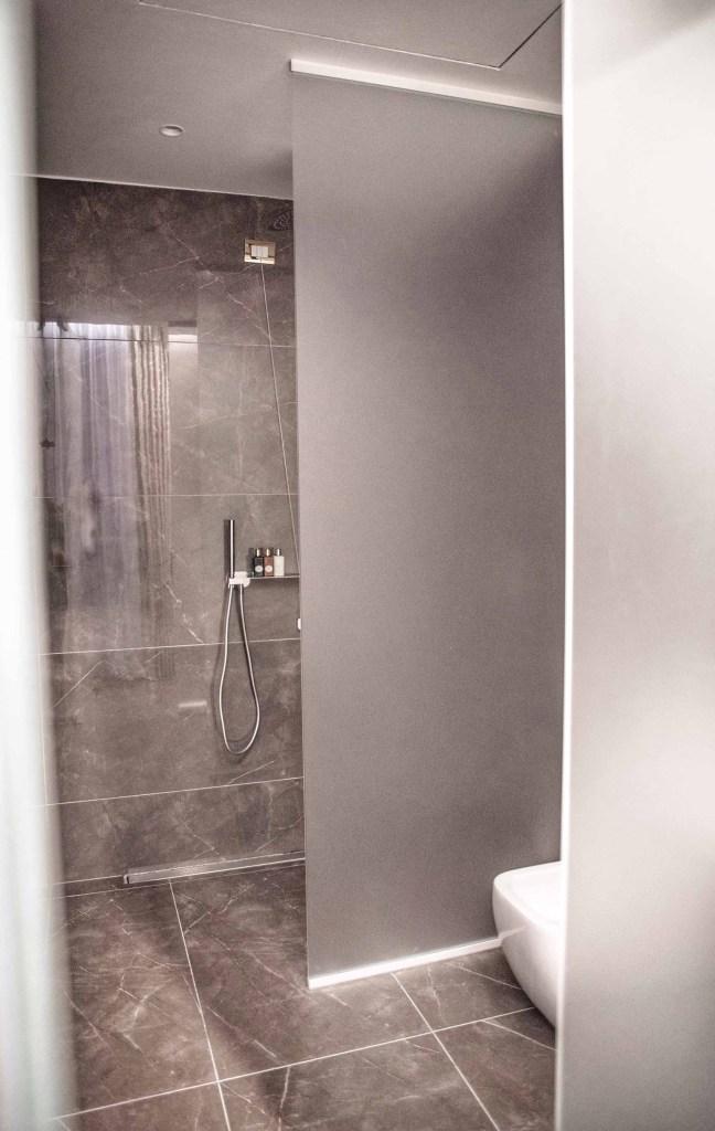 Salle de bain de l'hôtel 5 étoiles Lyon Boscolo