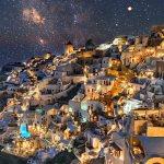 Grèce - Île de Santorin - Oïa - Romantique love