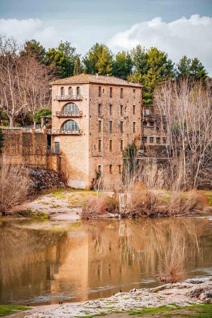 Moulin du Pont du Gard - Aqueduc Romain