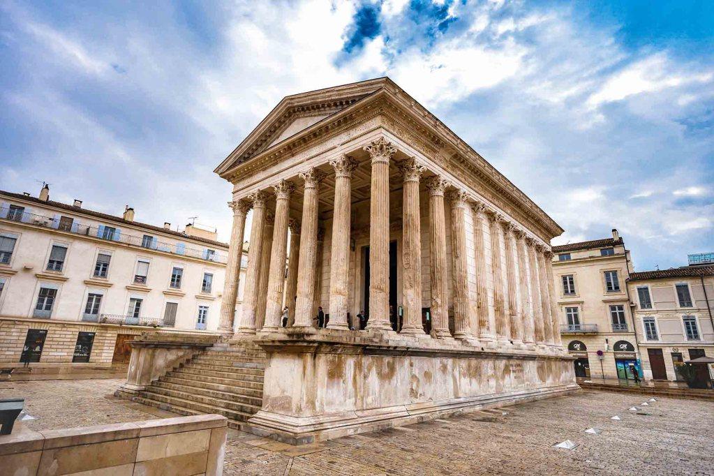 La maison carré de Nîmes