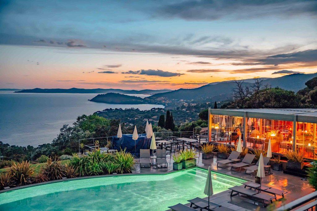 Hôtel La Villa Douce avec vue et sunset