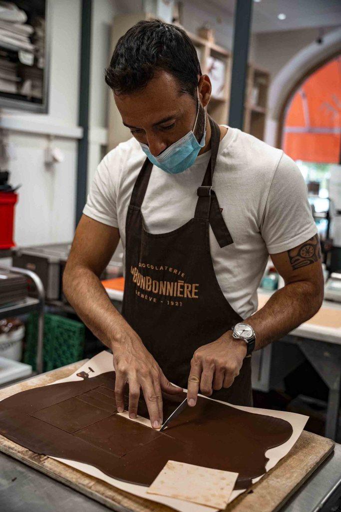 La Bonbonnière atelier Chocolat Suisse