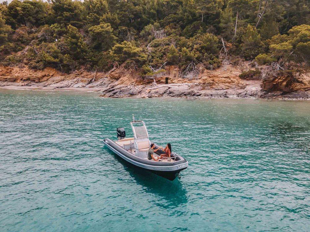 Session bateau avec l'hôtel