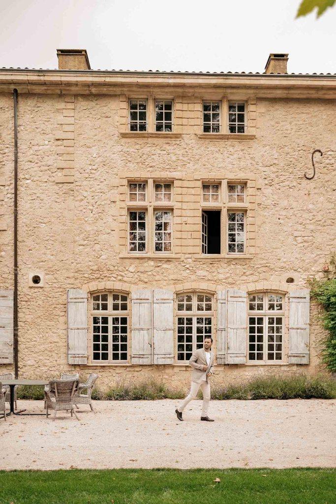 Bâtisse principale du Château