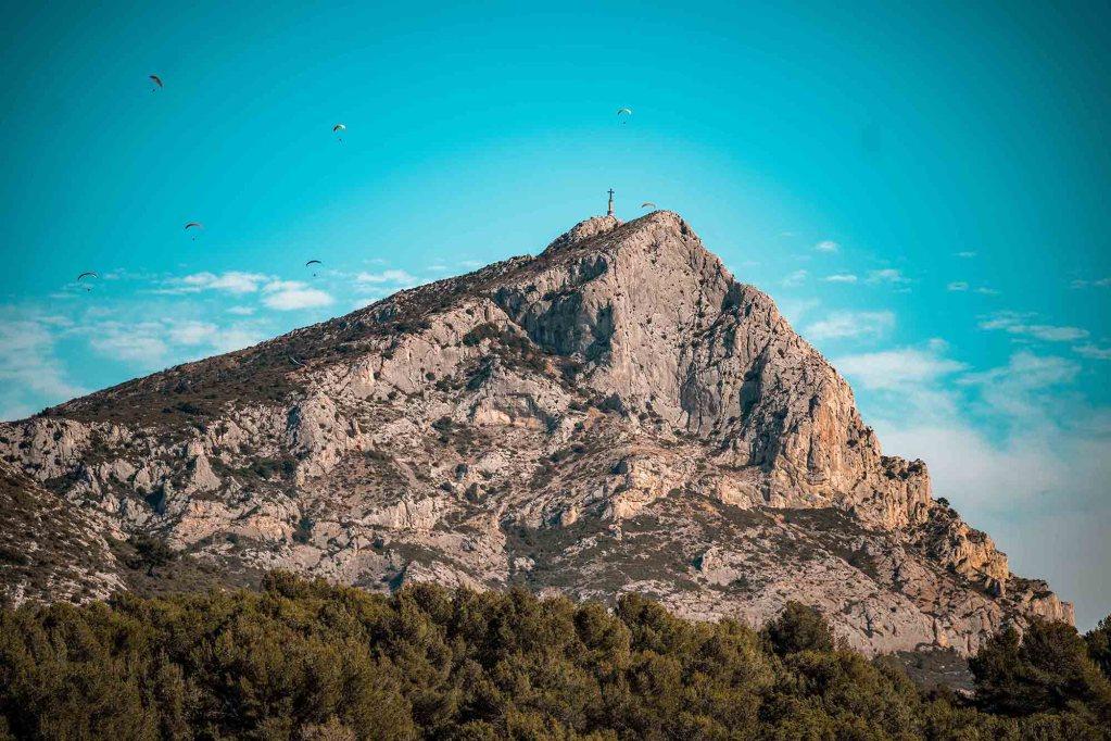 Montagne Sainte-Victoire Aix-en-Provence