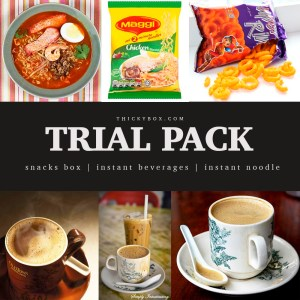 TRIAL PACK / SNACK BOX / INSTANT NOODLE / BEVERAGES