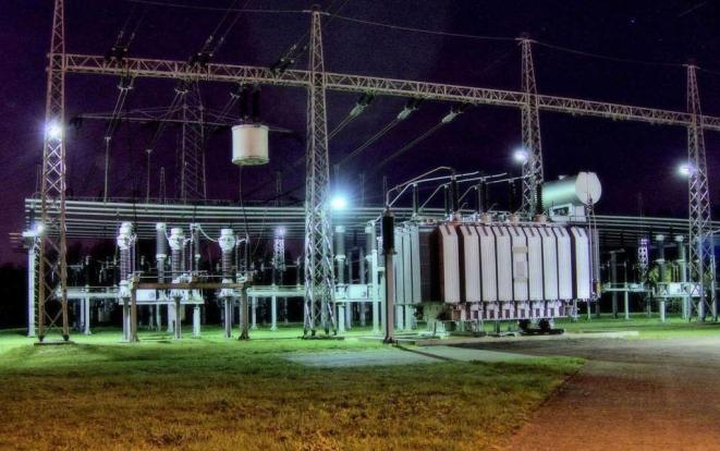 Lighting study - substation design calculations