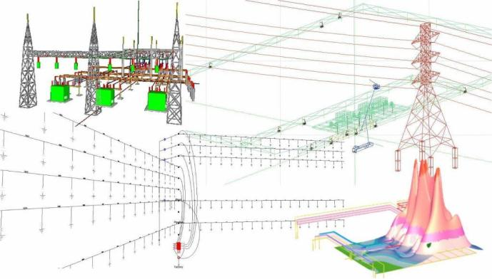 Ground grid study - substation design calculations