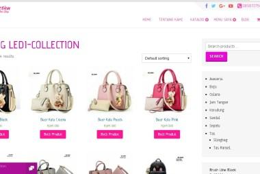 Grosir sepatu sandal wanita dan tas wanita ledi-collection