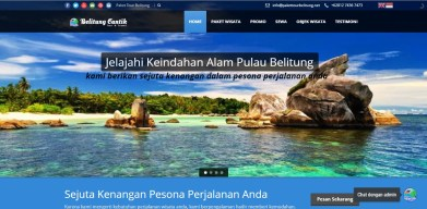 paket tour belitung full