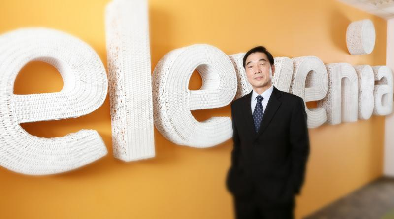 sejarah dan CEO elevenia james lee