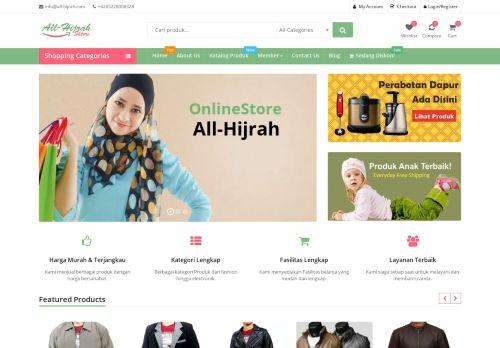 Onlineshop Multi Produk All-hijrah