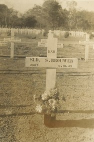 My grandfather's grave site. He died during the building of the Burma railway.