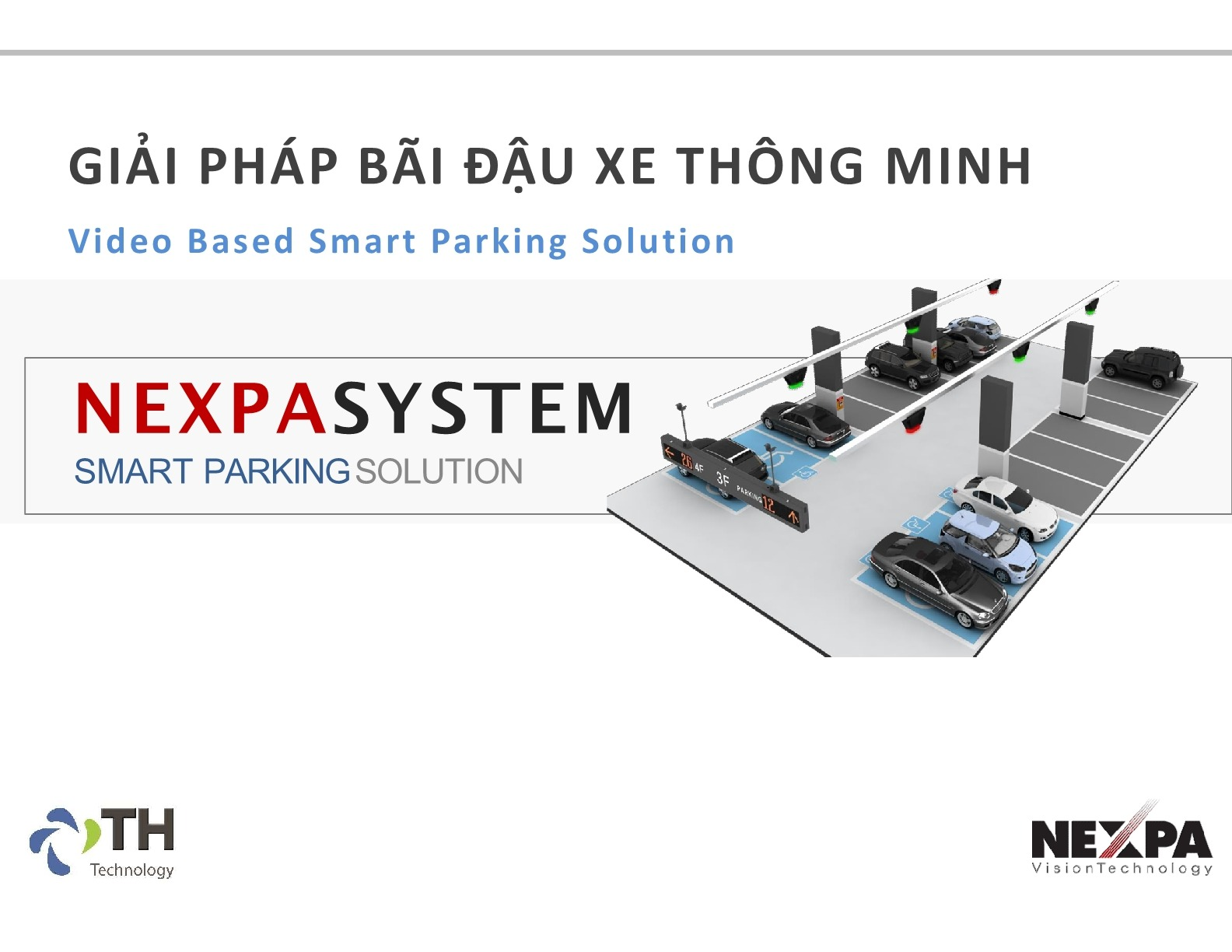 Nexpa Video Based Smart Parking