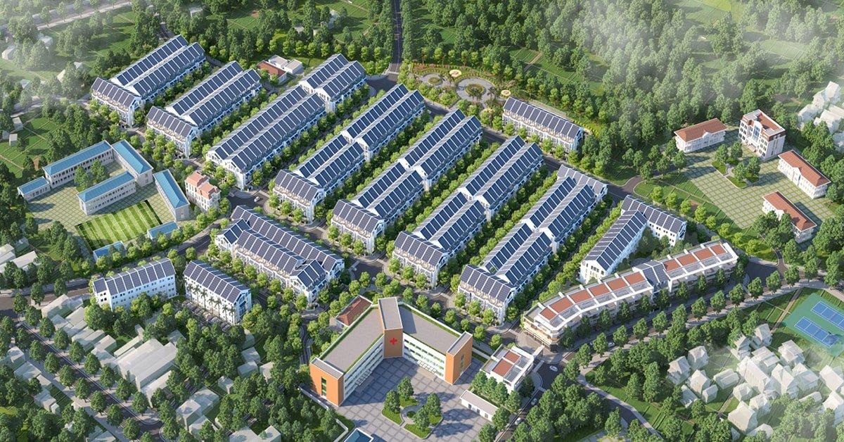 tổng thể dự án đại từ garden city