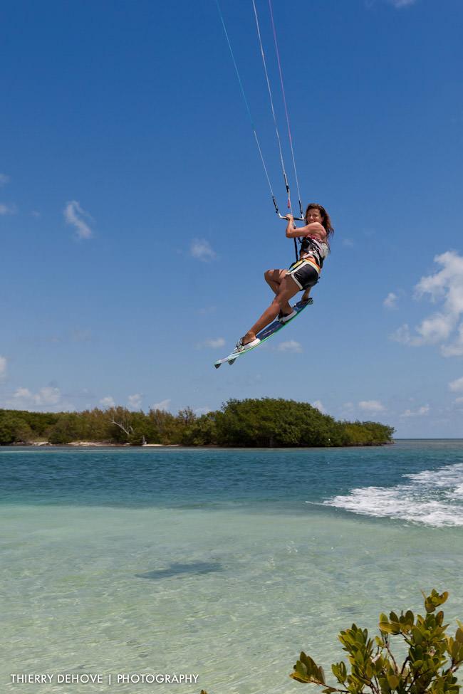 Charlotte Consorti Professional Kiteboarder in Miami