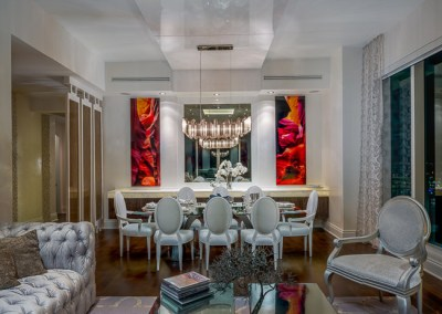 Home Interior Design Decoration in Brickell Key, Miami by Zelman Style Interiors