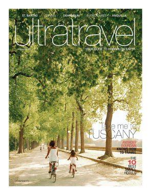 Zemi Beach inside Ultra Travel Magazine