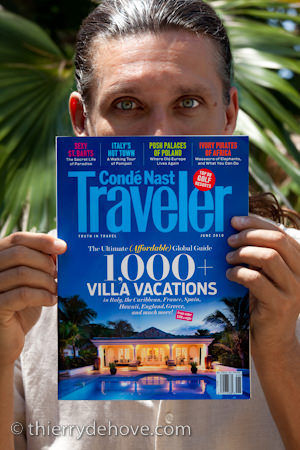 Conde Nast Traveler Magazine, my Cover in June 2010