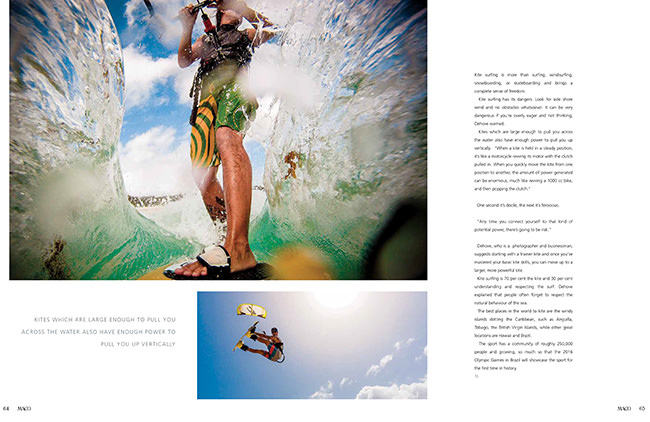 Maco Magazine April Kitesurfing Feature