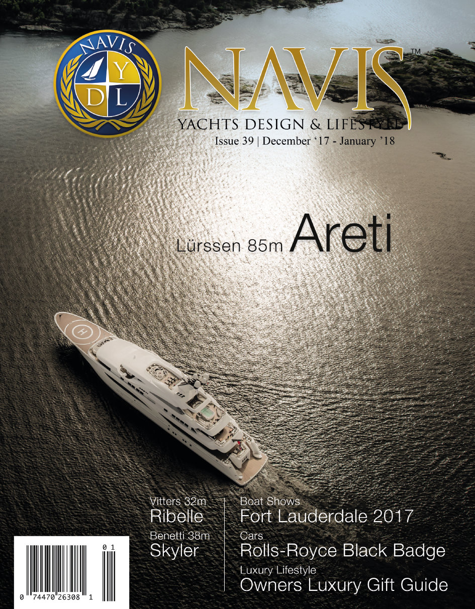 Navis Yachts Design Lifestyle Magazine December 2017