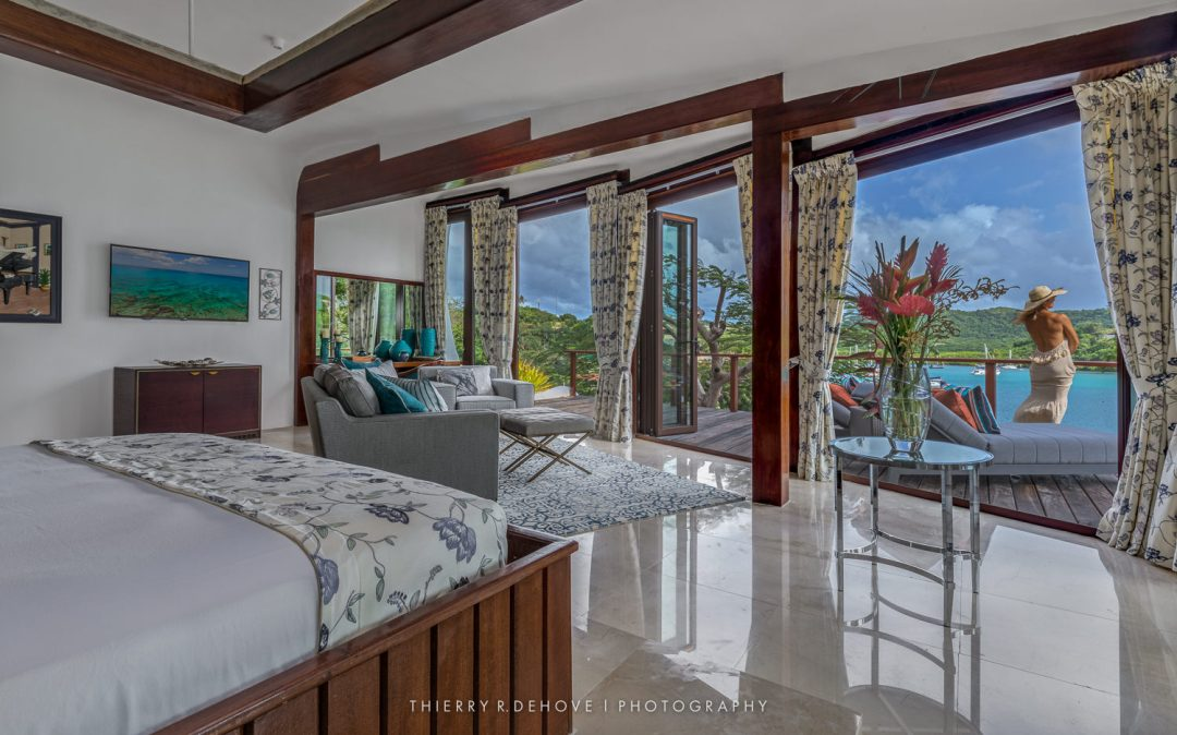 Mount Hartman Bay Estate in Grenada, Caribbean