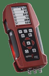 máy đo khí thải cầm tay mru optima 7