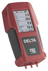 Máy đo khí nồi hơi Delta Smart MRU