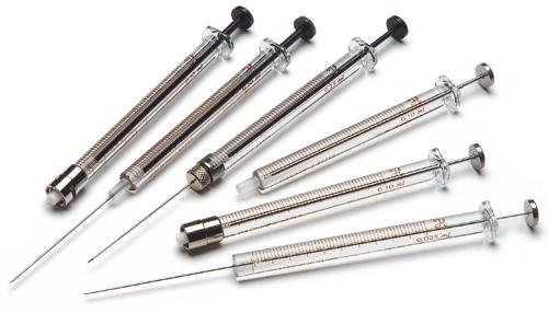 syringe hamilton máy sắc ký