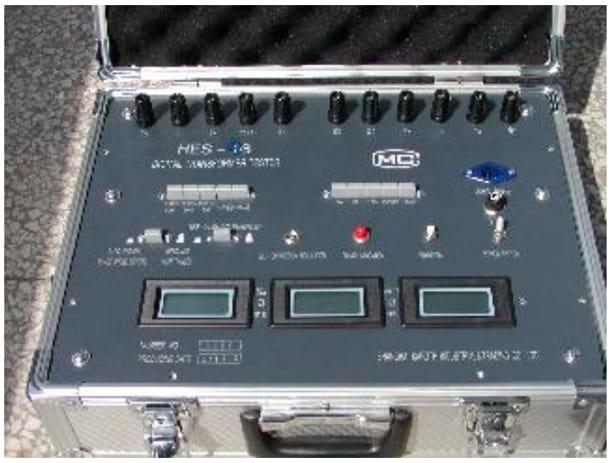 Thiết bị kiểm biến dòng, biến áp chỉ thị số Model HES-2B