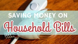 Saving Money on Household Bills