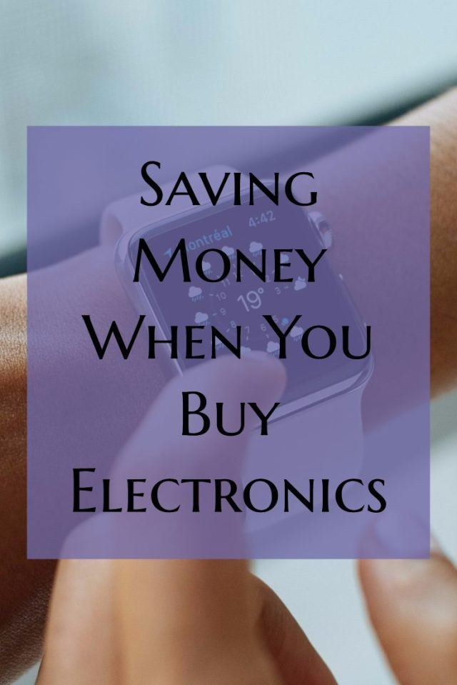 If you're in the market for new electronics there are several easy ways to save money when you shop. You don't have to spend a ton of money.