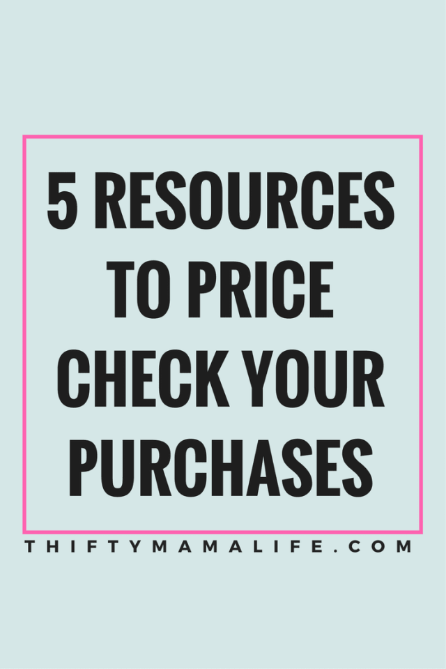 If you are anything like me, you want the best deal possible. Who wouldn't, right? Did you know that there are a TON of resources available to make certain you are getting the absolute best deal? Price Check is Key!