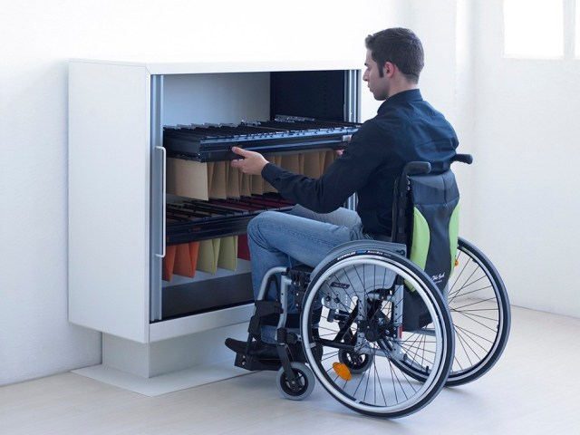 Disabled employee