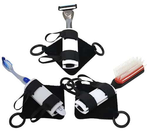 Gripping aid with mens grooming accessories