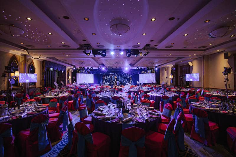 BHTA Annual Awards dining room